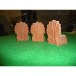 Large Pot Feet - Terracotta (Sold in Packs of 3)