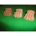 Lions Feet - Terracotta (Sold in Packs of 3)