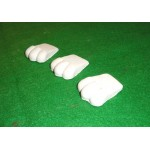 Pot Feet - Small White (Sold in Packs of 3)